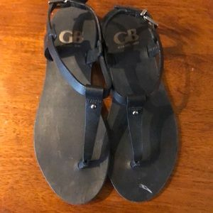 Gianni Bini size 5.5 leather sandal